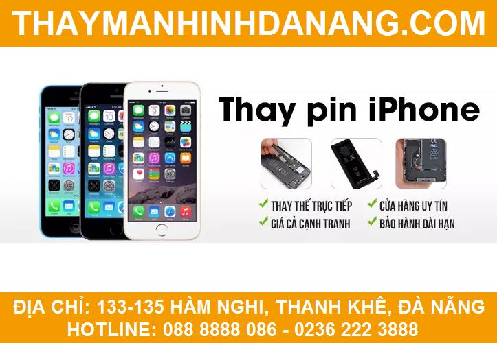 thay pin iphone tại đà nẵng