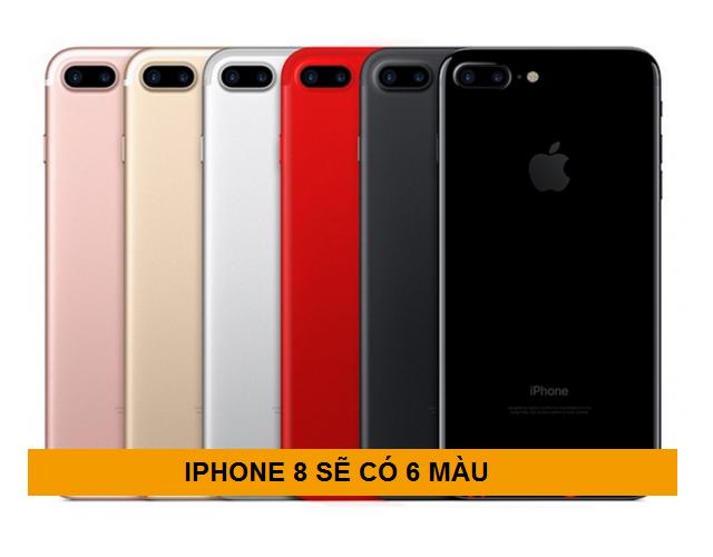 iphone 8 có những màu gì