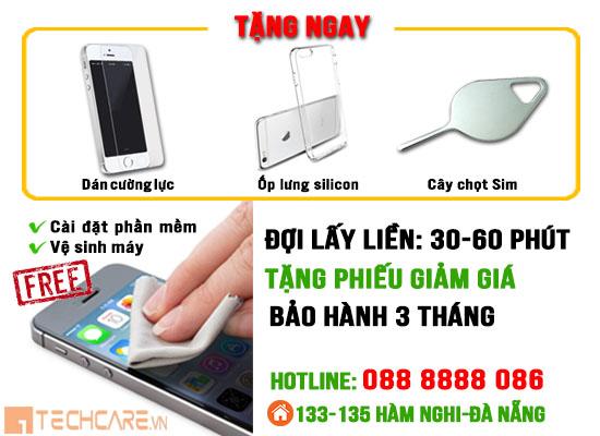 Các ưu đãi khi thay màn hình Iphone 6 tại techcare Đà Nẵng