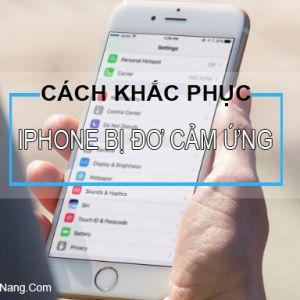 5 Cách Sửa Lỗi iPhone Bị Đơ Màn Hình Cảm Ứng Hiệu Quả Nhất