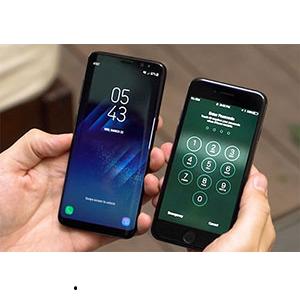Samsung Galaxy S8 và iPhone 7 Như Thế Nào Khi Đặt Lên Bàn Cân