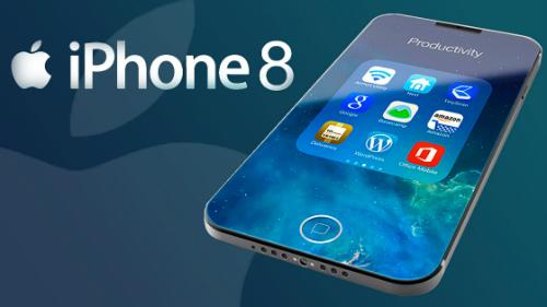 hình ảnh mới nhất về iphone 8