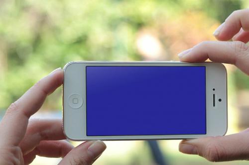 lỗi màn hình xanh trên iphone