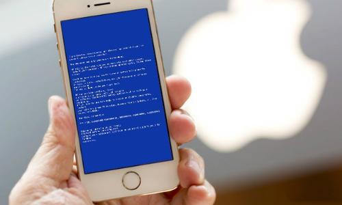 cách sửa lỗi màn hình xanh trên iphone 5/5s
