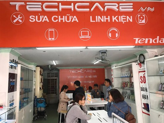 sua loi man hinh iphone 6 bi ho sang tai techcare