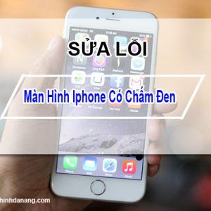 Xuất hiện chấm đen trên màn hình iPhone làm sao khắc phục?