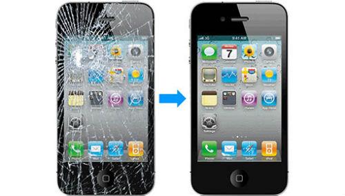 khắc phục Màn Hình Mặt Kính iPhone 4/ 4s Đà Nẵng