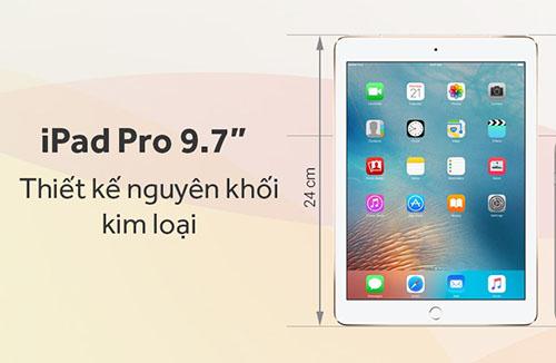 Cấu hình chính thức của ipad pro