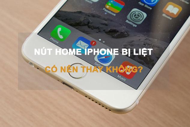 hướng dẫn sửa lỗi trên nút home iPhone