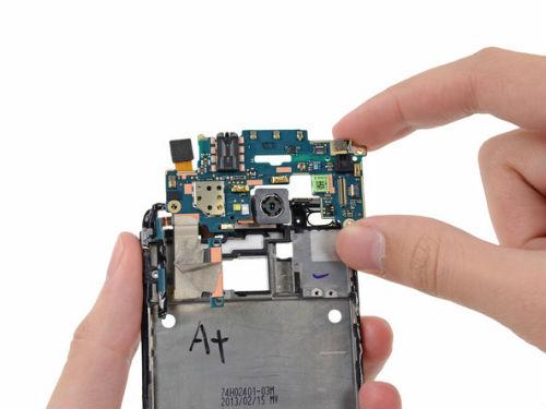 lỗi ám tím trên HTC One M7
