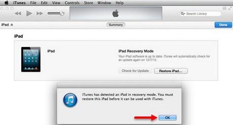 lỗi màn hình ipad bị phóng to