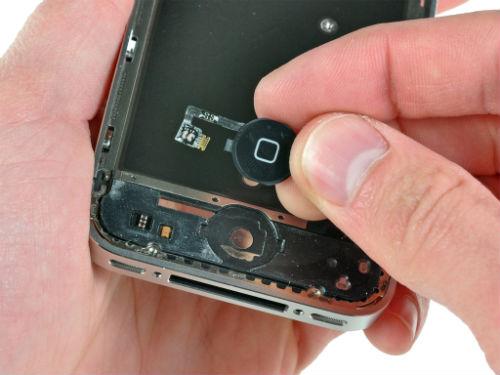 nút home trên iphone bị liệt