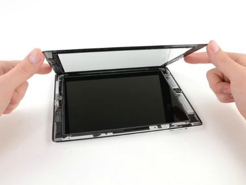 sửa lỗi màn hình ipad bị nhòe màu