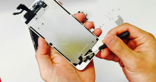 thay tấm phản quang iphone