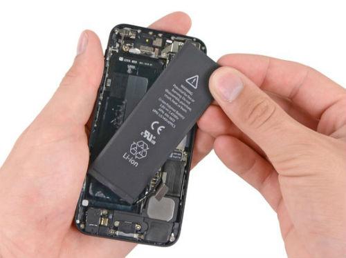 iphone bị nóng và nhanh hết pin