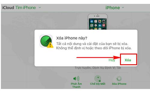 cách khắc phục iphone bị vô hiệu hóa