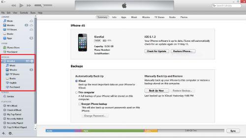 lỗi iPhone 4 không có tiếng