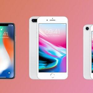 Hình ảnh iPhone 8, 8 Plus, iPhone X và những điều bạn chưa biết