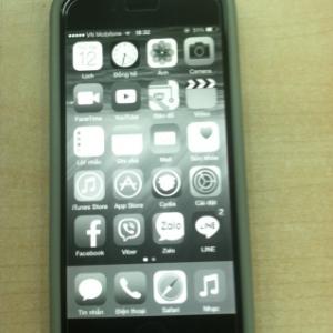 Fix lỗi màn hình iPhone bị mất màu nhanh gọn lẹ