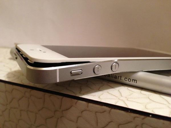 khắc phục lỗi màn hình iPhone 5 bị vênh