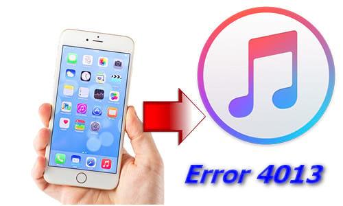 cách sửa iPhone 6 lỗi 4013