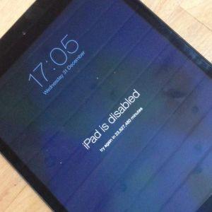 Hướng dẫn sửa lỗi iPad bị vô hiệu hóa chỉ trong 5 phút