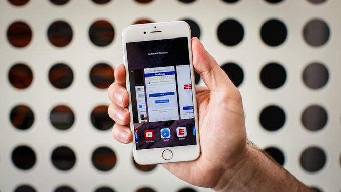 sửa lỗi màn hình iPhone 5 bị giật