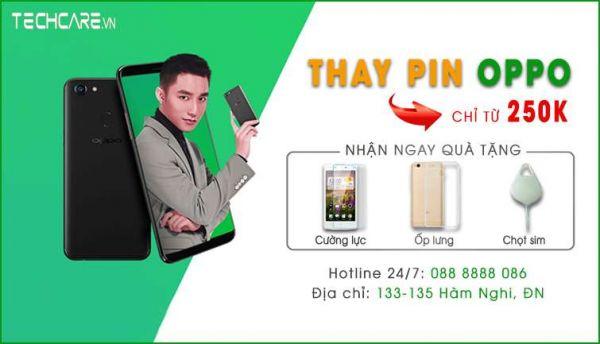 Địa chỉ thay pin Oppo tại Đà Nẵng giá rẻ