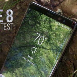 Pin Samsung Note 8 dùng được bao lâu?