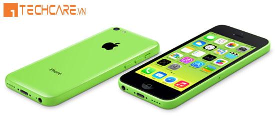 Thay vỏ Iphone màu xanh lá cây