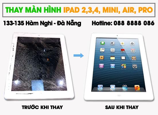 Thay màn hình Ipad 4 tại Techcare