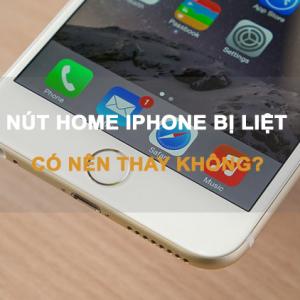 Hướng dẫn sửa lỗi nút home iPhone bị liệt nhanh nhất