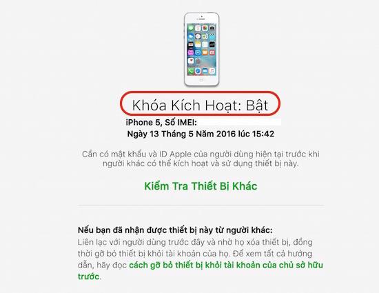 iPhone bị dính iCloud là gì?