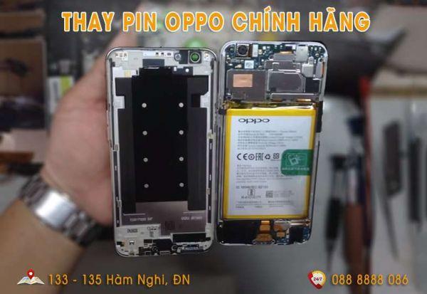 Thay pin Oppo tại Đà Nãng chuyên nghiệp