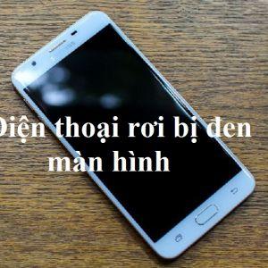 Điện thoại rơi bị đen màn hình