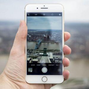 Cách chỉnh camera trước bị ngược iPhone
