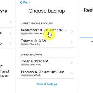 Cách khôi phục tin nhắn đã xóa imessage trên iphone
