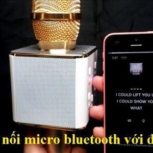 Cách kết nối Micro Bluetooth với điện thoại