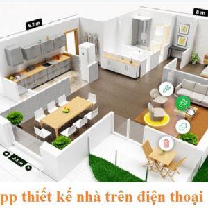 App thiết kế nhà trên điện thoại