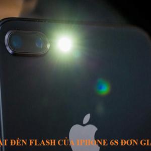 Cách bật đèn flash của iphone 6s đơn giản nhất
