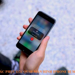 Cách khắc phục lỗi quay màn hình iphone bị mất tiếng nhanh chóng