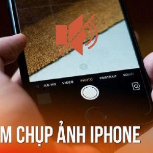Cách tắt âm thanh chụp ảnh iPhone được thực hiện như thế nào?